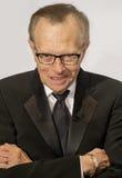 De Koning van Larry Royalty-vrije Stock Foto