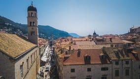 De Koningen van Dubrovnikkroatië het Landen Stock Afbeeldingen