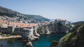 De Koningen van Dubrovnikkroatië het Landen royalty-vrije stock foto