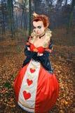 De Koningin is niet gelukkig! Royalty-vrije Stock Afbeeldingen