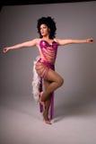 De koningin van de Belemmering van Showgirl. Royalty-vrije Stock Afbeeldingen