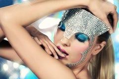 De Koningin van de disco Stock Foto's