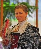 De Koningin van de renaissance fayre Royalty-vrije Stock Fotografie