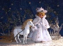 De Koningin van de sneeuw Royalty-vrije Stock Afbeeldingen