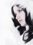 De koningin van de sneeuw Royalty-vrije Stock Foto's