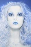 De koningin van de winter Stock Afbeeldingen