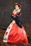 De Koningin van Harten Stock Foto's