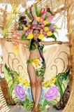 De koningin van het festival Royalty-vrije Stock Afbeeldingen