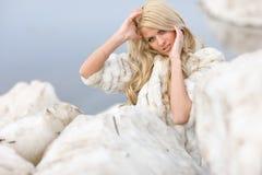 De Koningin van het ijs royalty-vrije stock foto