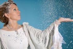 De koningin van het ijs royalty-vrije stock afbeelding