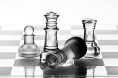De koningin van het schaak Royalty-vrije Stock Afbeeldingen