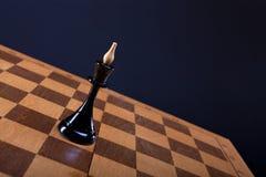De koningin van het schaak op de Raad Royalty-vrije Stock Fotografie