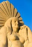 De koningin van het zand Stock Foto's