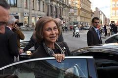 De koningin van Sofia van Spanje Royalty-vrije Stock Afbeelding