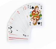 De koningin van spades Stock Afbeelding