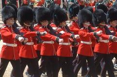 De koninginnen Birthday Parade. Royalty-vrije Stock Foto's