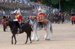 De koninginnen Birthday Parade. Royalty-vrije Stock Foto