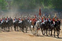 De koninginnen Birthday Parade. Stock Afbeeldingen