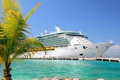 Het Schip van de cruise Stock Foto