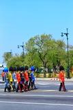 De koninklijke Ceremonie van de Crematie, BANGKOK, THAILAND Royalty-vrije Stock Foto's