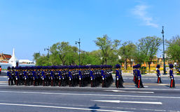 De koninklijke Ceremonie van de Crematie, BANGKOK, THAILAND Stock Afbeeldingen