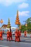 De koninklijke Ceremonie van de Crematie, BANGKOK, THAILAND Stock Fotografie