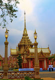 De koninklijke Ceremonie van de Crematie, BANGKOK, THAILAND Royalty-vrije Stock Fotografie