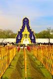 De koninklijke Ceremonie van de Crematie, BANGKOK, THAILAND Royalty-vrije Stock Foto