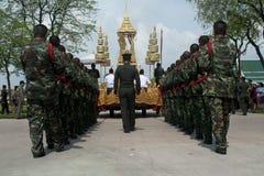 De koninklijke Ceremonie van de Crematie van Prins Bejaratana Stock Fotografie