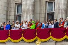 De Koninklijke Familie Stock Foto
