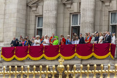 De Koninklijke Familie Stock Foto's