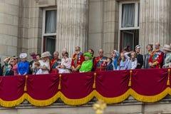 De Koninklijke Familie Stock Afbeelding