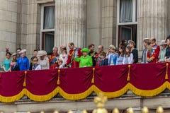 De Koninklijke Familie Royalty-vrije Stock Afbeeldingen