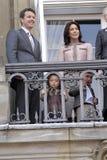 DE KONINKLIJKE FAMILIE VAN DENEMARKEN Royalty-vrije Stock Fotografie