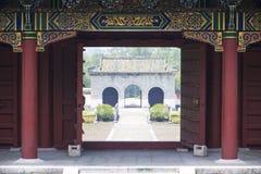 De Koninklijke Graven van Jingjiang, Guilin, China stock afbeeldingen