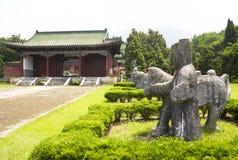 De Koninklijke Graven van Jingjiang, Guilin, China stock foto