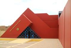 De Koninklijke Graven van Sipan-Museum of Museo Tumbas Reales DE Sipan in Lambayeque, Chiclayo, Peru royalty-vrije stock foto