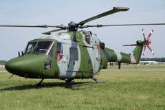 De koninklijke helikopter van de Lynx van het Leger Royalty-vrije Stock Afbeeldingen