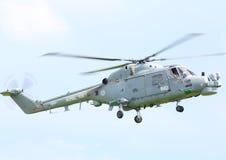De koninklijke helikopter van de Lynx van het Leger Stock Foto