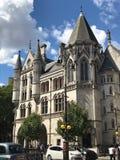 De Koninklijke Hof van Justitie, Londen, het Verenigd Koninkrijk stock afbeelding
