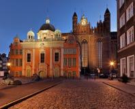 De koninklijke Kapel in Gdansk royalty-vrije stock fotografie
