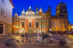 De Koninklijke Kapel van St Mary Basiliek in Gdansk Stock Afbeelding