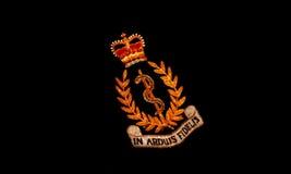 De koninklijke leger medische korpsen stock afbeeldingen