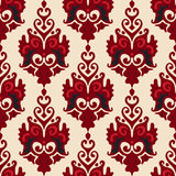 De Koninklijke Luxe van de damastbloem  Royalty-vrije Stock Afbeeldingen