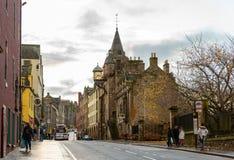 De Koninklijke Mijl in Edinburgh Stock Afbeeldingen