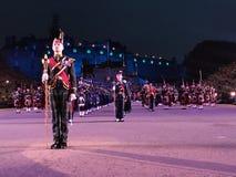 De koninklijke Militaire Tatoegering van Edinburgh stock afbeeldingen