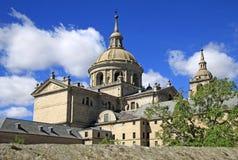 De Koninklijke Plaats van San Lorenzo de El Escorial, Spanje Stock Afbeeldingen