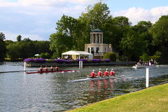 De Koninklijke Regatta van Henley royalty-vrije stock afbeelding