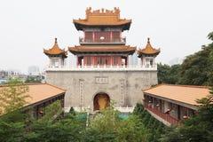 De koninklijke tempel, het westen vijf yunjutempel in xian Royalty-vrije Stock Afbeelding