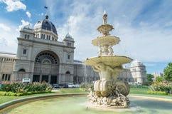 De koninklijke Tentoonstellingsbouw in Melbourne Stock Foto's
